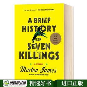 七次屠T杀的简史 英文原版书 A Brief History of Seven Killings