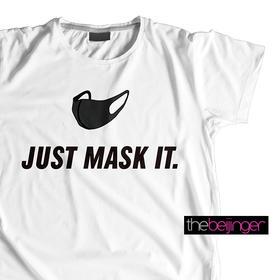 Just Mask It-thebeijinger定制纯棉T恤