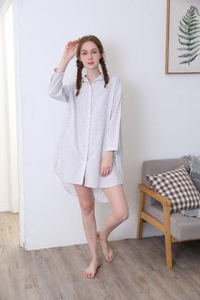 梭织棉裙装女士衬衣家居服 14139606