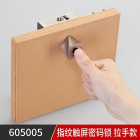 605005指纹触屏密码锁 拉手款(联系客服享受专属价格)