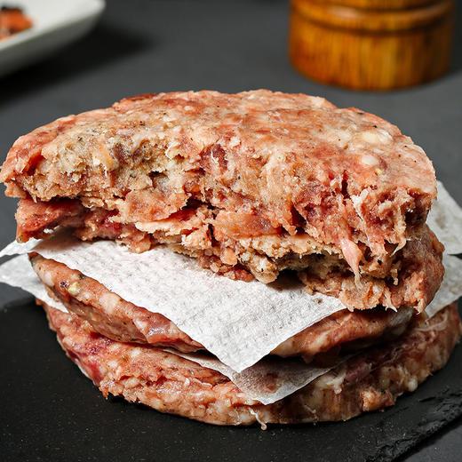 [澳洲汉堡牛肉饼]肉质鲜嫩 厚实可口 100g/袋 10袋起 商品图4