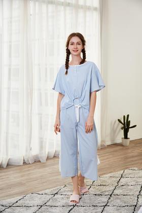 梭织棉套装女士家居服 14139205