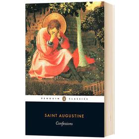 忏悔录 英文原版 人物传记 Confessions 英文版经典文学名著书籍