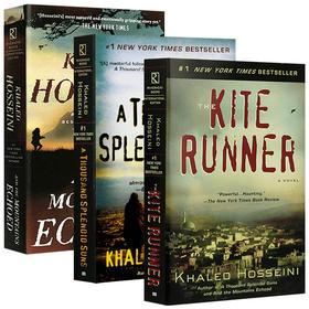追风筝的人 灿烂千阳 群山回唱 胡赛尼3册套装 The Kite Runner