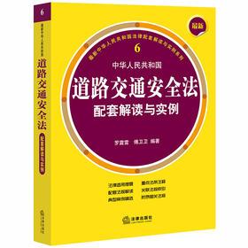 2020新版 最新中华人民共和国道路交通安全法配套解读与实例 罗震雷 傅卫卫编著