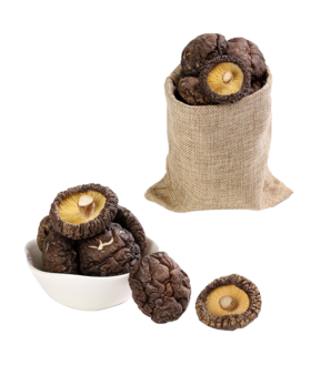 瑞金市 惠农供销 深山椴木特级干香菇250克
