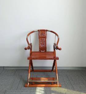 红桥红  家具严选  缅甸花梨(大果紫檀)  【麒麟交椅】