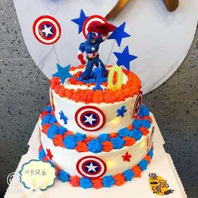 美国🇺🇸队长蛋糕