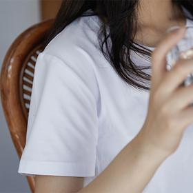 Brancheau设计师品牌合作款·夏日灵感空气白T恤 | 69元3件装男女同款