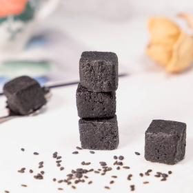 【黑芝麻小方】 买3送1 营养丰富的小零食 黑芝麻含量高达95% 沙软细腻好吸收