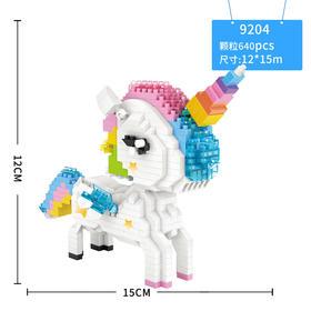 LOZ小颗粒积木 卡通人物 益智拼装玩具