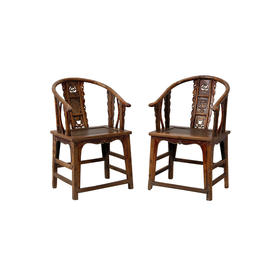 圈椅(对)Pair of chair Q11090817175