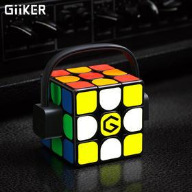 【智能APP蓝牙实时同步教学 开启智能魔方时代】计客GiiKER超级魔方i3s全亮版  黑科技自动识别 顺滑竞速三阶磁力魔方