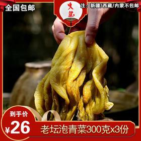 火筵泡青菜300克/3袋装