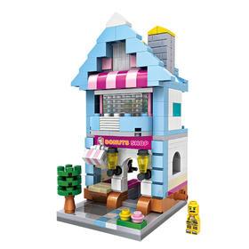 LOZ小颗粒积木 迷你街景 益智拼装玩具