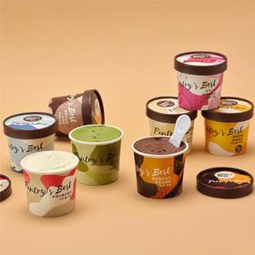 [意式冰淇淋礼盒]八种口味 口感绵密 8杯装