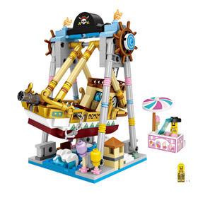 LOZ小颗粒积木 迷你游乐场 益智拼装玩具