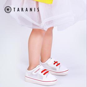 【春夏专柜同款】泰兰尼斯学步鞋 透气网面小白鞋