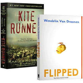 怦然心动Flipped+追风筝的人The Kite Runner 进口英文原版小说