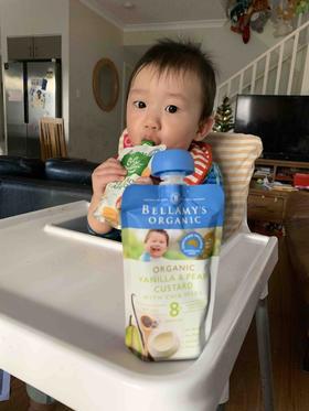 Bellamy's贝拉米Only Organic有机果泥蔬菜泥宝宝婴儿辅食泥