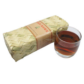 雅安藏茶康砖茶金尖茶特级手工竹条 500g