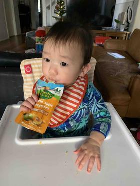 澳洲直邮RG拉芙迪蔬菜水果泥婴儿宝宝辅食无零添加