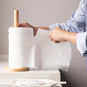 柚家厨房用纸 厨用纸巾吸油纸卷纸洗碗纸巾一次性吸水纸10卷整箱