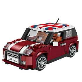 LOZ小颗粒积木 迷你车模 益智拼装玩具