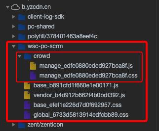 页面静态资源
