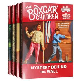 棚车少年17-20册套装 英文原版 The Boxcar Children Mysteries Books 17-20