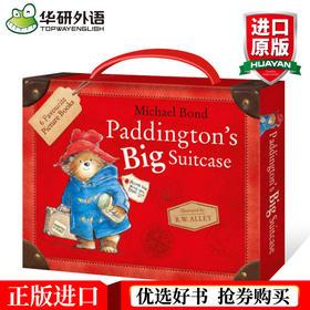 英文原版儿童绘本 小熊帕丁顿6册盒装 绘本 儿童图书3-6岁绘本书