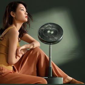 【预售,6月初发货】爱登台地两用空气循环扇,可折叠,电风扇