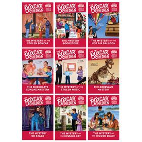 棚车少年41-49册套装 英文原版章节桥梁书 The Boxcar Children Mysteries Books 41-49