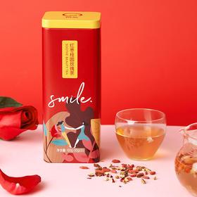 悦茶LATTEA 红枣桂圆枸杞玫瑰茶 补气养血调月经养生茶便携小袋