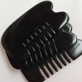 精品牛角刮痧板(经络梳)