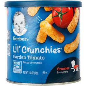 【效期21.3】美国嘉宝Gerber 田园番茄口味泡芙条(8个月以上)42g