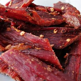 手撕麻辣牛肉条500g袋装肉类既食小零食