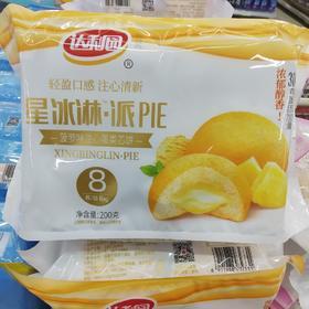 达利园菠萝味注心饼8枚200g
