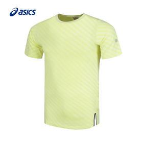 Asics亚瑟士 男款无缝拼接运动短袖T恤