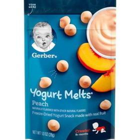 美国嘉宝Gerber 酸奶溶豆(8个月以上)28g【效期20.10后】