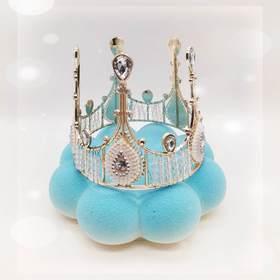 女王的皇冠慕斯蛋糕(喷砂款)