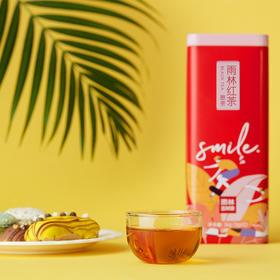 悦茶LATTEA 云南雨林古树红茶浓香型罐装 便携小包袋装冷泡茶滇红