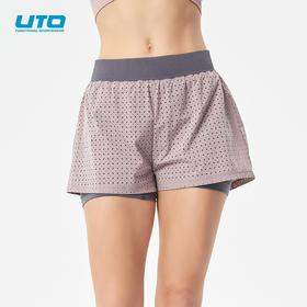 UTO炫灵女士二合一短裤