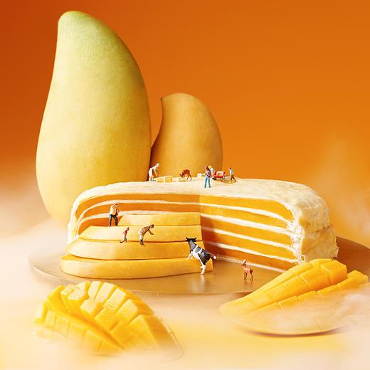 [6英寸千层蛋糕]果肉多多 榴莲/芒果口味 2-3人食 商品图2