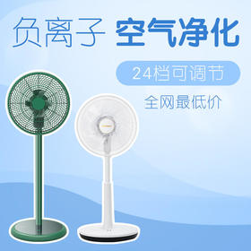 Bestherm百斯腾 直流温感频智能负离子空气净化电风扇