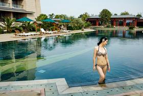 东太湖大酒店 游泳次卡 户外泳池可用