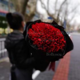 99支玫瑰经典花束