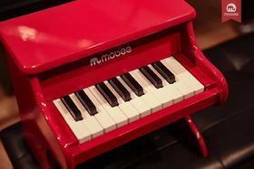 mobee18键钢琴3岁以上儿童早教启蒙早旋律音乐玩具木制玩具