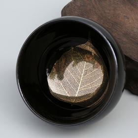 金叶钵形盏