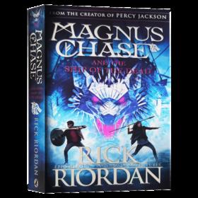 马格纳斯与仙宫之神3 英文原版科幻小说 Magnus Chase and the Ship of the Dead 马格纳斯与北欧神话 死亡之舟 波西杰克逊 英文版